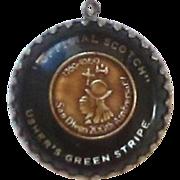 Usher's Green Stripe Anniversary Medallion