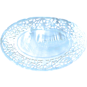 Mother of Pearl Carved Dish,Tray