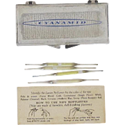 Perfume Bottlettes, Case and Instructions