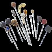 Group of Vintage Hat Pins
