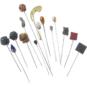 Group of Vintage Hat Pins