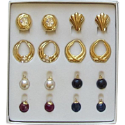 Nolan Miller Interchangeable Earring Set