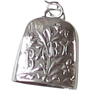 Sterling Silver Baby Bell Rattle