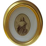 Framed Print of Sacred Heart