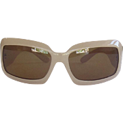 Vintage CHANEL Sunglasses Tan, Polarized