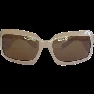 Vintage CHANEL Sunglasses Tan, Polarized