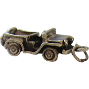 Sterling Silver World War II Military Jeep Vehicle