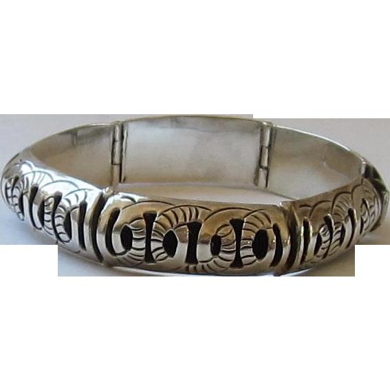 Sterling Silver Flexible Bracelet