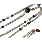 Miriam Haskell Opera Length Bead Necklace