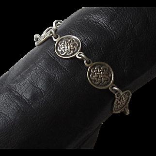 Sterling Silver Celtic Linked bracelet