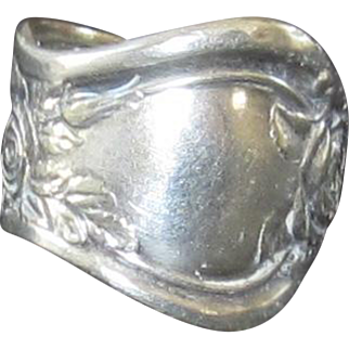 Silver Spoon Ring - Size 6 1/2