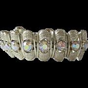 Vintage CORO Bracelet Aurora Borealis