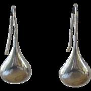 Sterling Silver Tear Drop Earrings