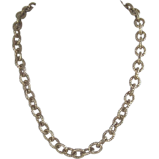 925 Chunky Link Necklace - Italy