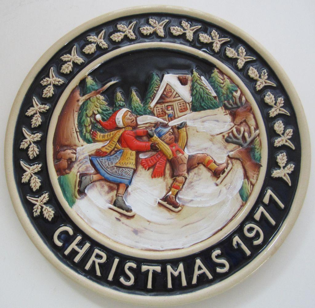 Genuine Bavarian Plate-1977
