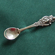 Lovely Sterling Silver Vintage Jewelart Spoon Brooch