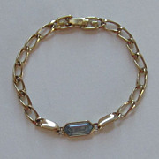 Darling Vintage Givenchy Gold Plated Link Bracelet