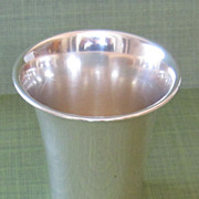 Antique Sterling Silver Cup
