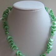 Darling Vintage Plastic Necklace-Germany