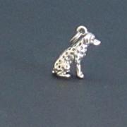 Vintage Sterling Silver Dalmatian Charm