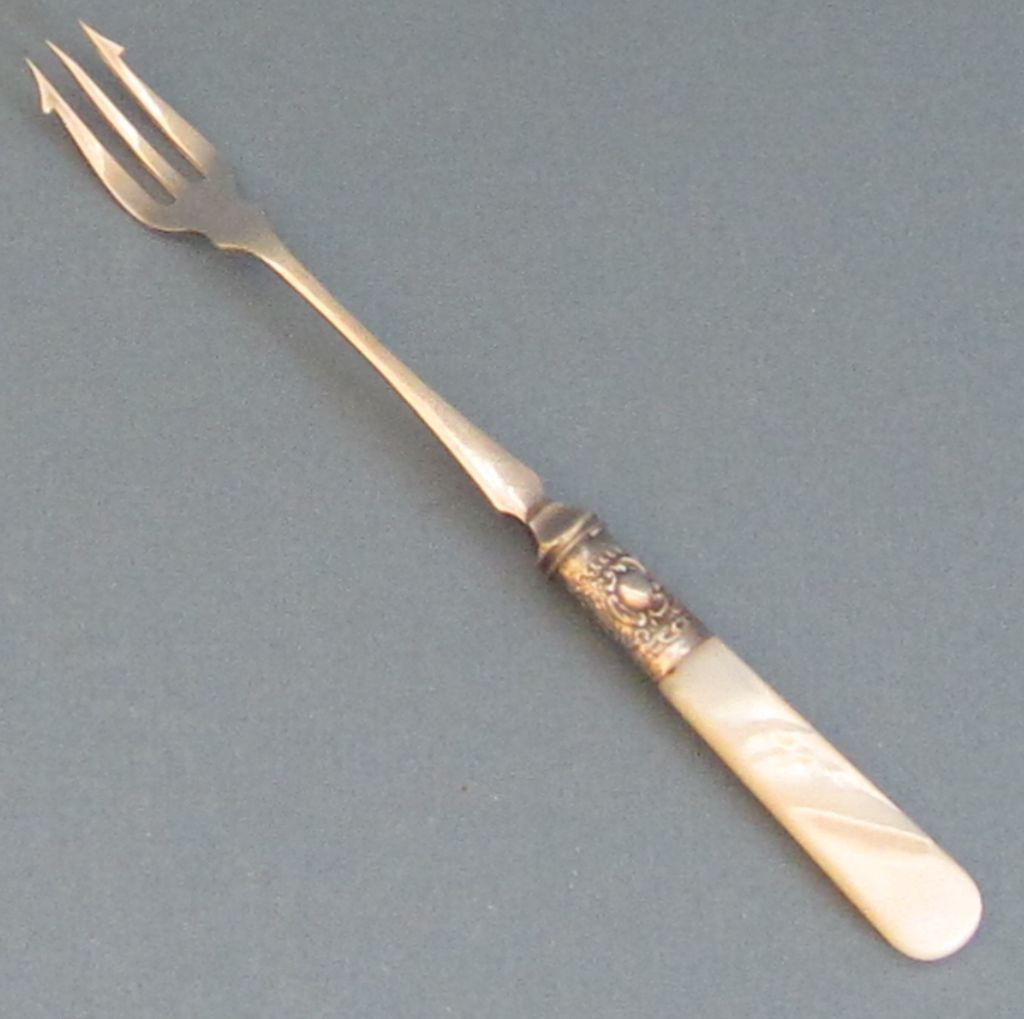 Mop Sterling Silver Pickle Fork From Shopveronica On Ruby Lane