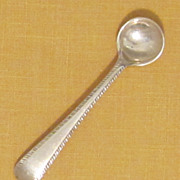 Sterling Silver Salt Spoon-England