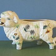 "Staffordshire ""Lamb"" Creamer, England"
