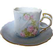 Hutschenreuther Sylvia China Tea cup and saucer