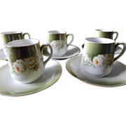 Royal Munich Demitasse Cup & Saucers set of 5