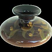 Rookwood Pottery 1902 Squat Vase # 720 E Standard Glaze by Laura E. Lindeman