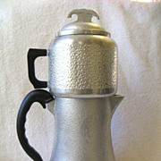 Vintage Guardian Service Hammered Aluminum Coffee Maker Drip Percolator  Urn