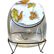 Glass Jar General Store Counter Display with Lid and StandGlass Cookie Jar General Store Counter Display with Lid and Stand