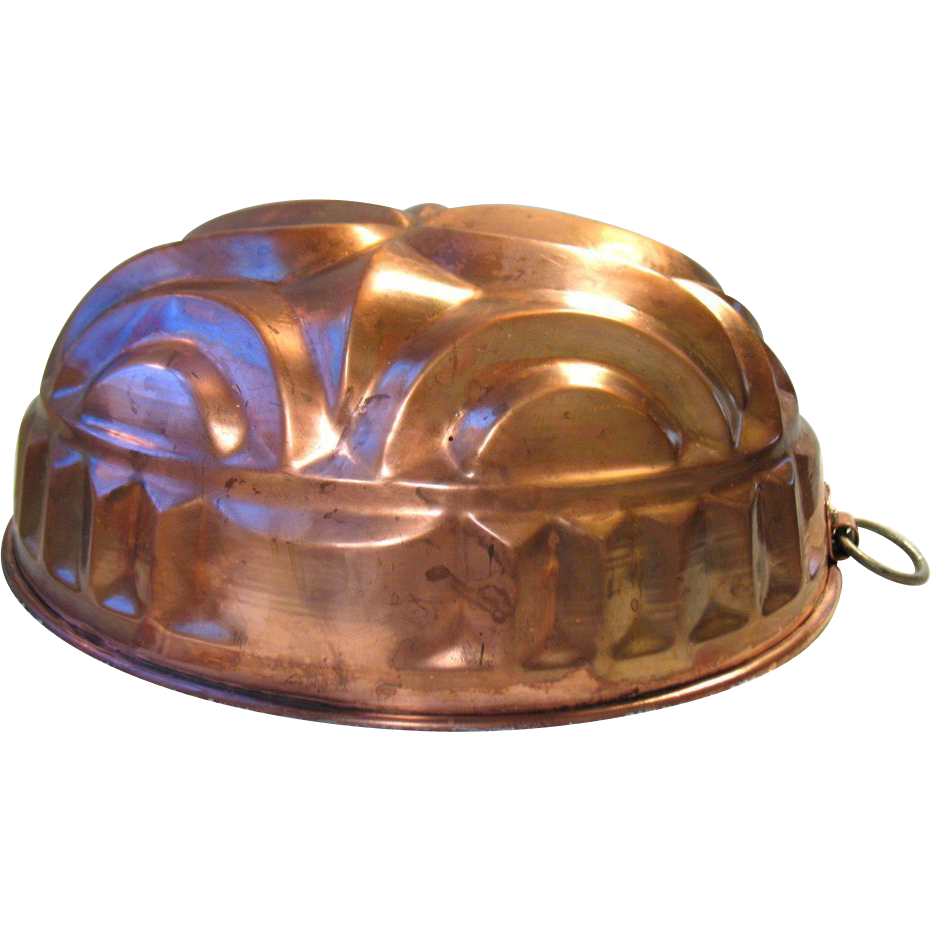 Old Copper Mold Pan Germany Christian Wagner