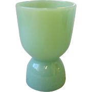 Fire-King Jadite Jadeite Green Double Egg Cup