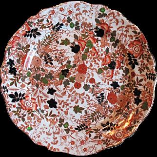 "Royal Cauldon BITTERSWEET Large 15"" Chop Plate Serving Platter Round X2500"