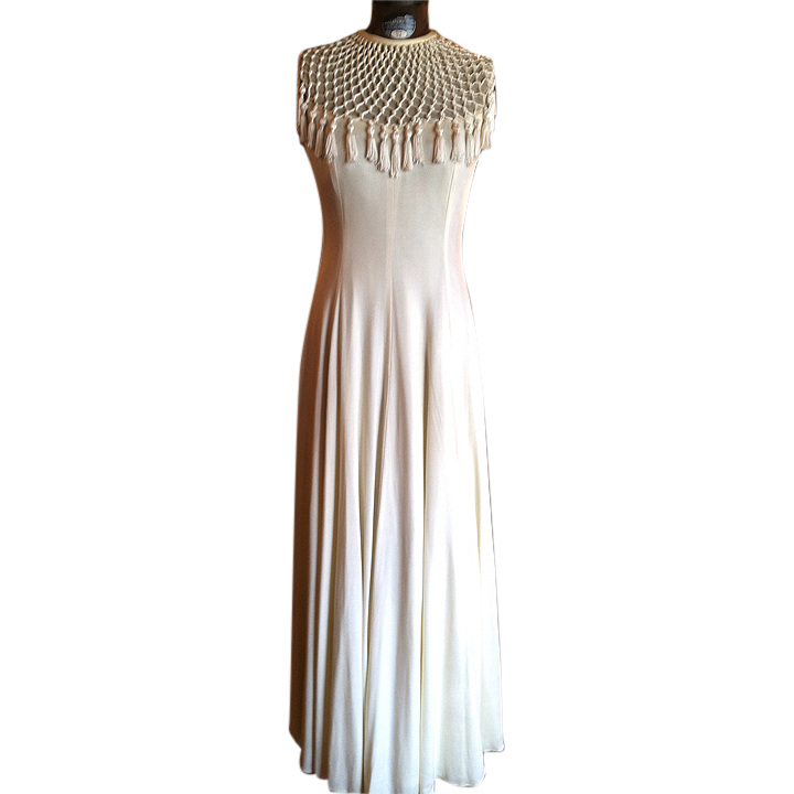 Stunning Macrame Long Dress