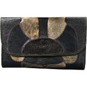 Vintage Carlos Falchi Snakeskin Clutch