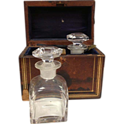 Antique Travel Perfume Casket - 40% OFF SALE