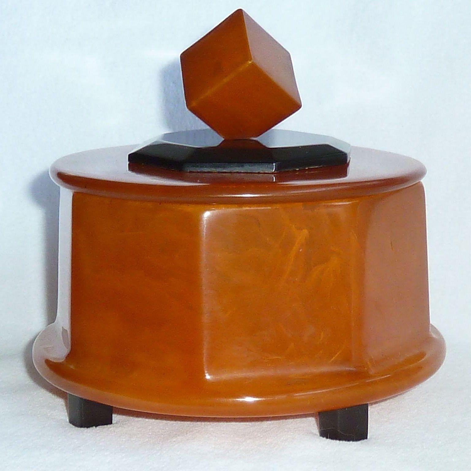 Iconic Balanced Cube Bakelite Box