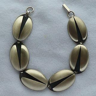 Beau Sterling Lady Bug Designed Bracelet