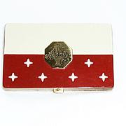 Houbigant Red  White Stars Compact