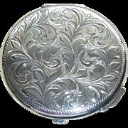 Birks Sterling Silver Compact Vintage