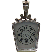 14K Rose Gold Masonic Watch Fob HTWSSTKS