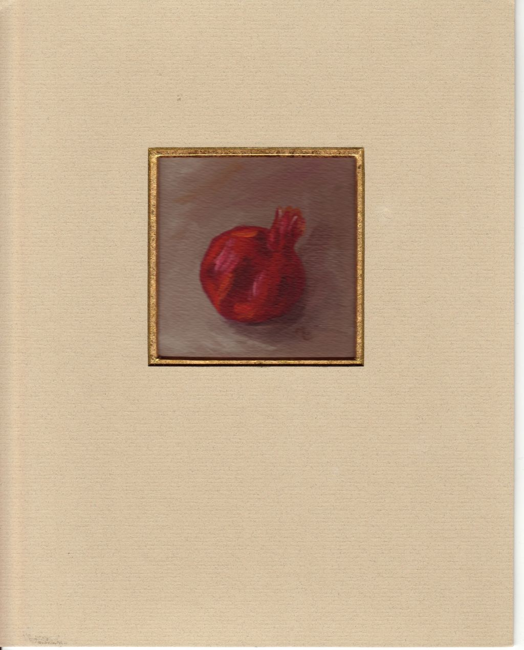 Pomegranate Oil Painting