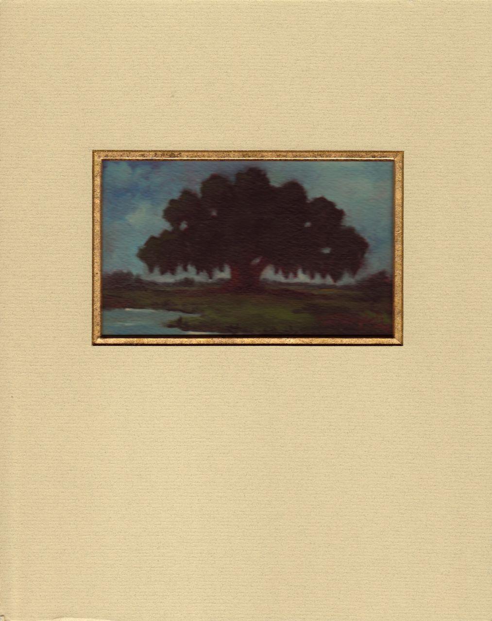 Louisiana Live Oak Painting- Horizontal