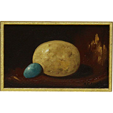 Pheasant Egg w/ Little Blue Egg
