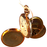 Ladies 14k Elgin Pocket Watch