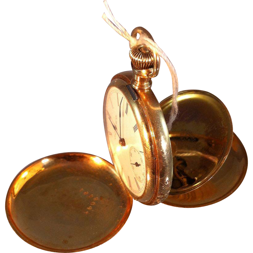 how to open a ladies elgin pocket watch