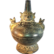 Pre-Incan Chimu Pot with handle