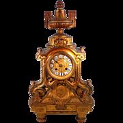 French Ormolu Mantle Clock